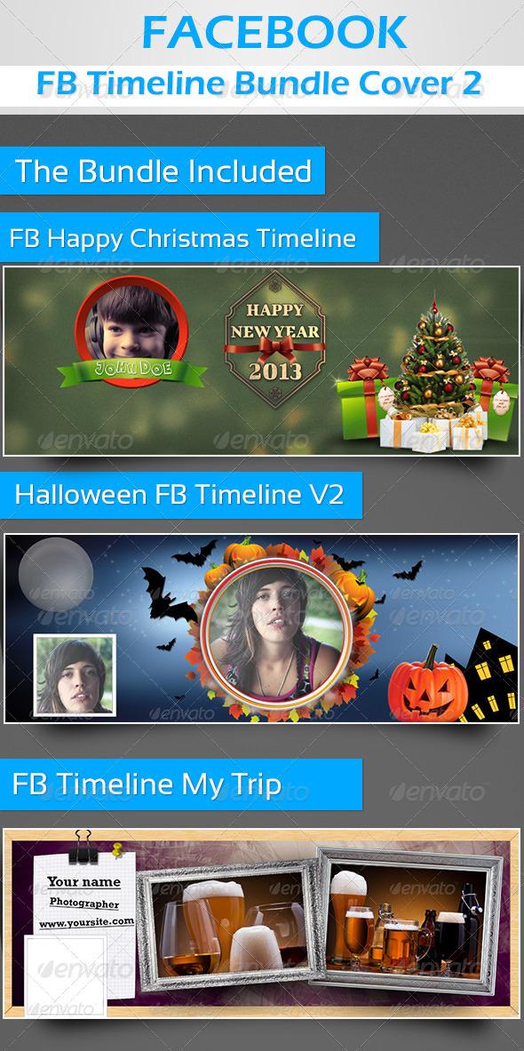 GraphicRiver FB Timeline Cover Bundle 2 3422356