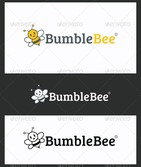 GraphicRiver BumbleBee Logo Template 3422423