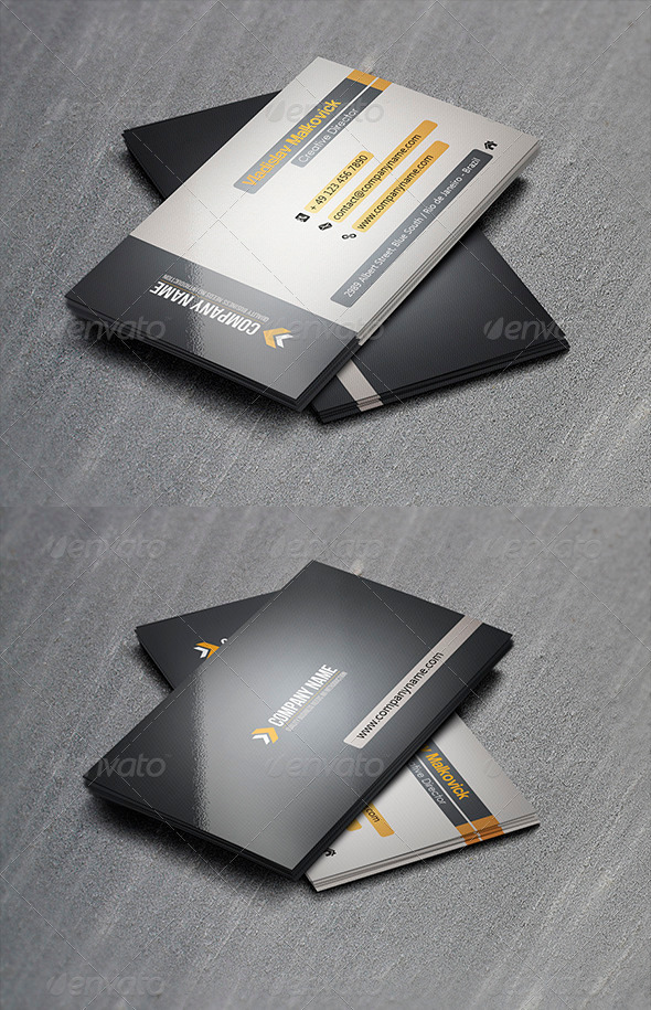 GraphicRiver Corporate Business Card 17 3399678