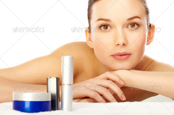 In beauty salon - Stock Photo - Images