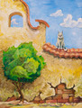 Cat and the Tree - PhotoDune Item for Sale