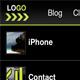 Темний, Mobile Template - Шаблони Різне сайту
