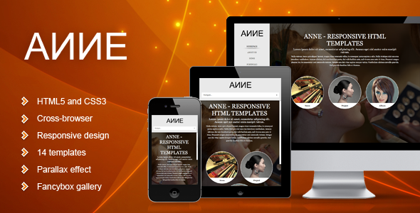 Anne - Responsive Template