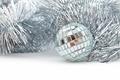 Christmas shiny garland and ball - PhotoDune Item for Sale