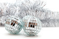 Christmas shiny balls and garlands - PhotoDune Item for Sale