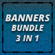 BANNERS BUNDLE 4 IN 1 - GraphicRiver Item for Sale