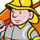 Download Vector Fireman Firefighter Emergency Worker
