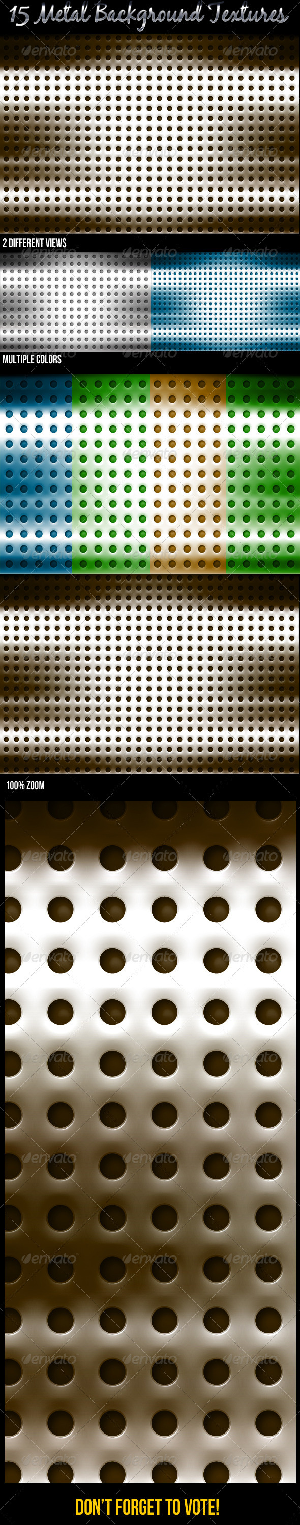 GraphicRiver Metal Backgrounds 3425853
