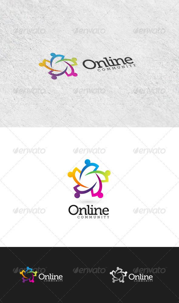 GraphicRiver Online Community 1 Logo Template 3426609