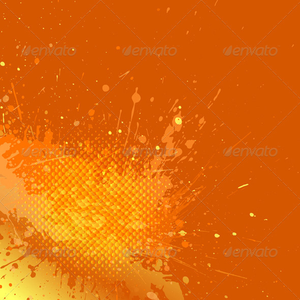 GraphicRiver Abstract Grunge Background Vector 3426947