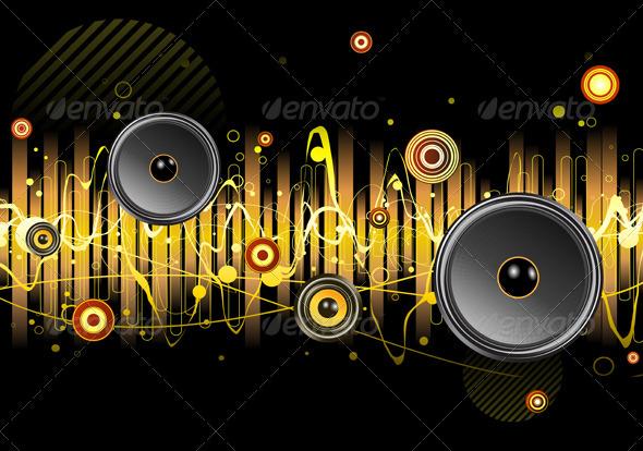 GraphicRiver Urban Music Scene 3427487