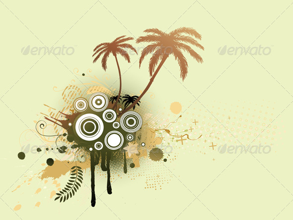 GraphicRiver Summer Background 3427545