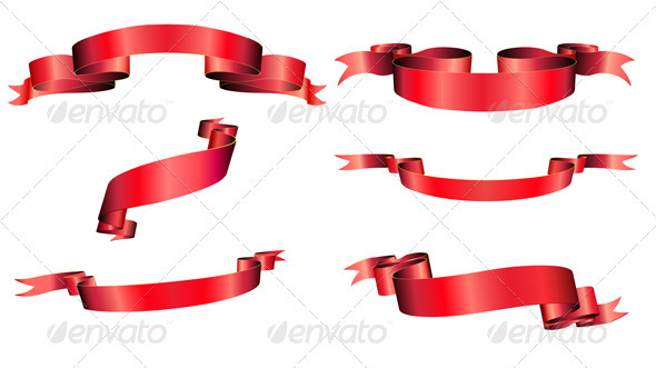 GraphicRiver Ribbons Set 3427552