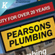 Plumbing Services Flyer Vol.01 - GraphicRiver Item for Sale