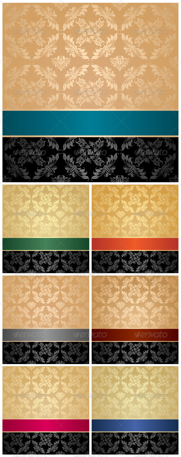 GraphicRiver Seamless Pattern Floral Decorative Background 3402607
