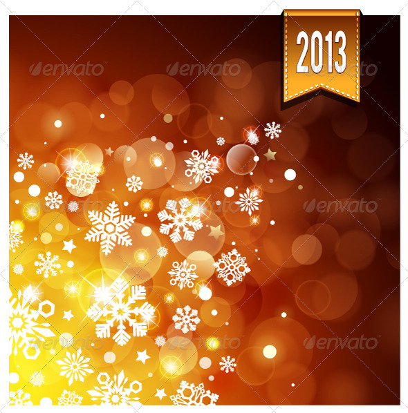 GraphicRiver Gold Luminous Background 3401138