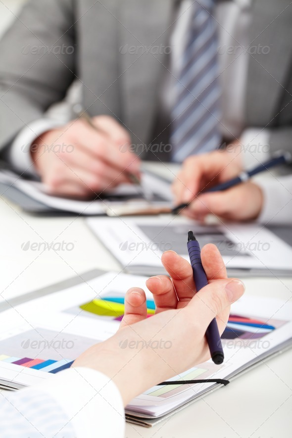 Working moment - Stock Photo - Images