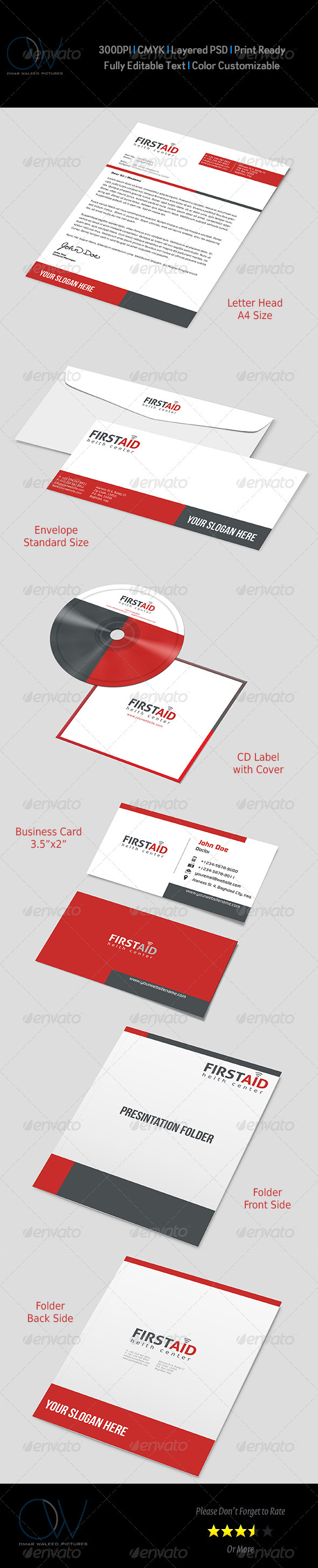 Corporate Stationary Pack Vol.3 - Stationery Print Templates