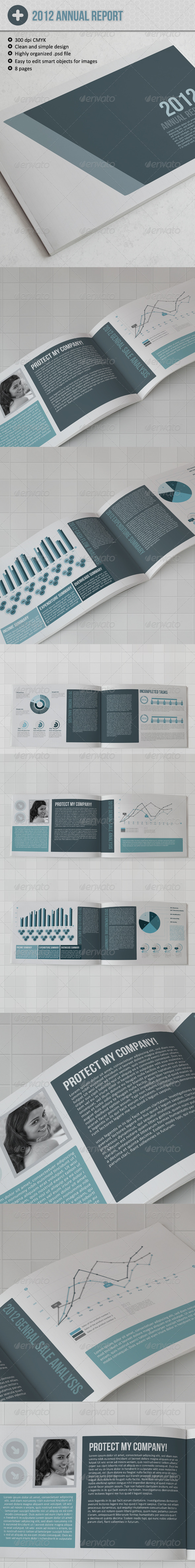 GraphicRiver Infographic Brochure Template 3429670