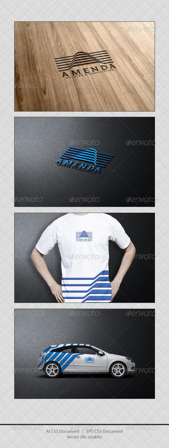 GraphicRiver Amenda Logo Templates 3430489