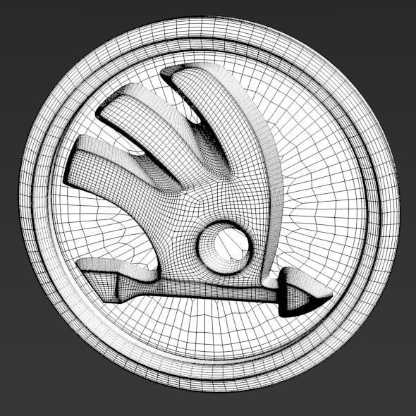 3DOcean Skoda Logo 2011 3431072