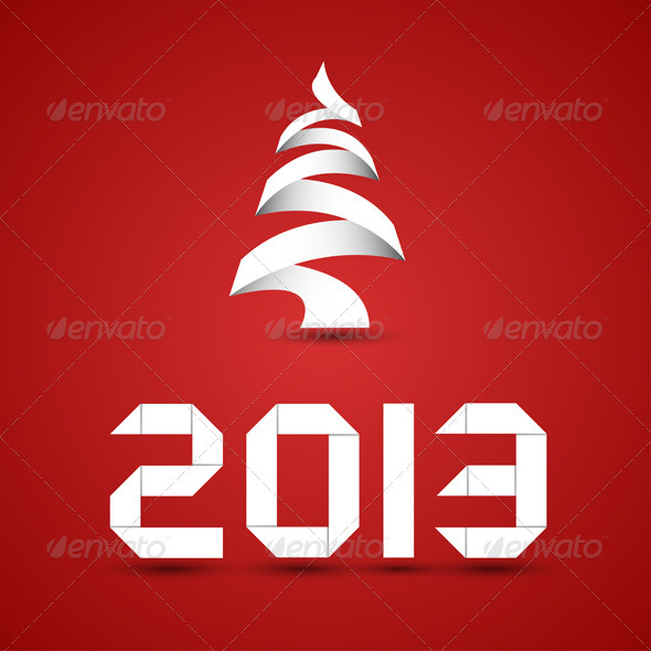 GraphicRiver New 2013 Year Numbers 3431421