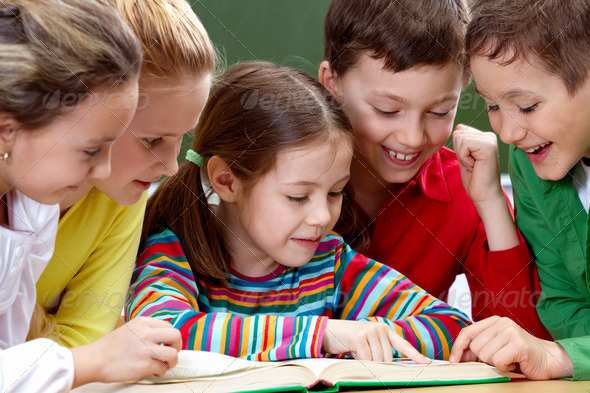 PhotoDune Reading kids 370270