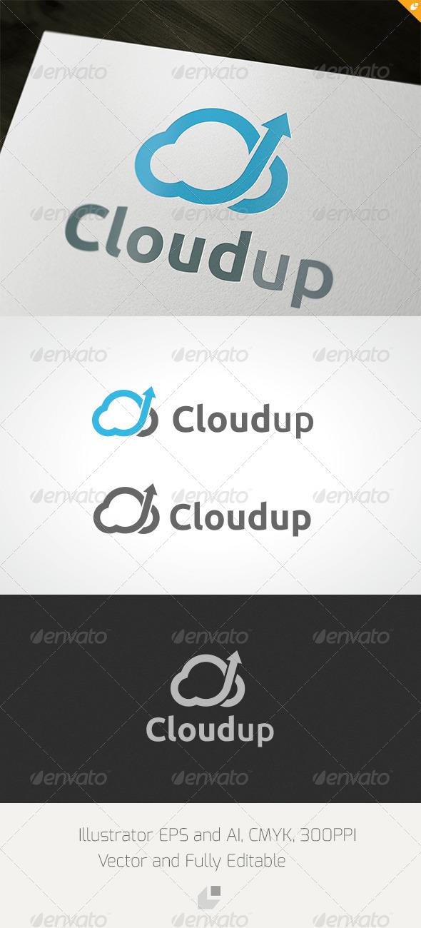 GraphicRiver Cloudup Logo 3432410