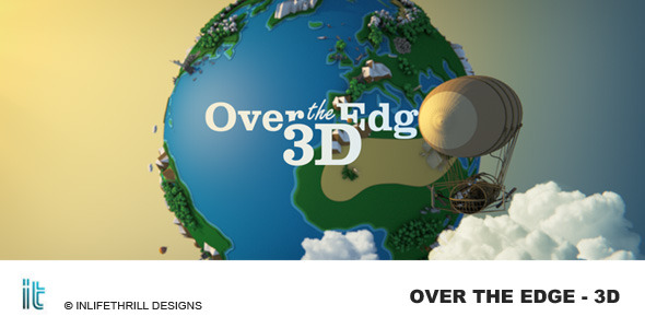 VideoHive Over The Edge 3D 3433104