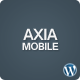 AxiaMobile - Wordpress HTML5 Template - ThemeForest Item for Sale