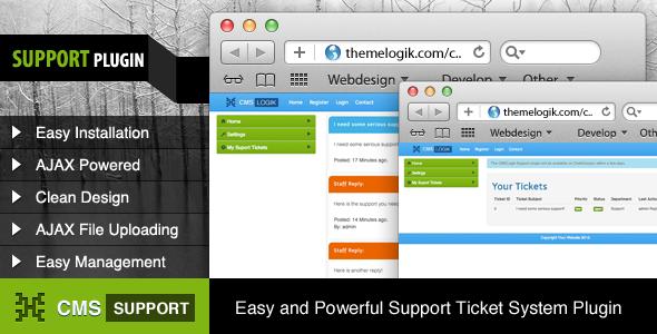 CodeCanyon CMSLogik Support Plugin 3434944