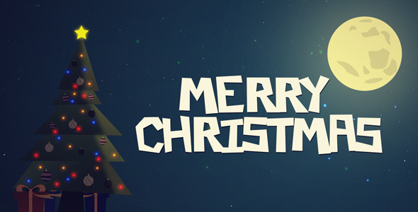 VideoHive Christmas Card 3434948