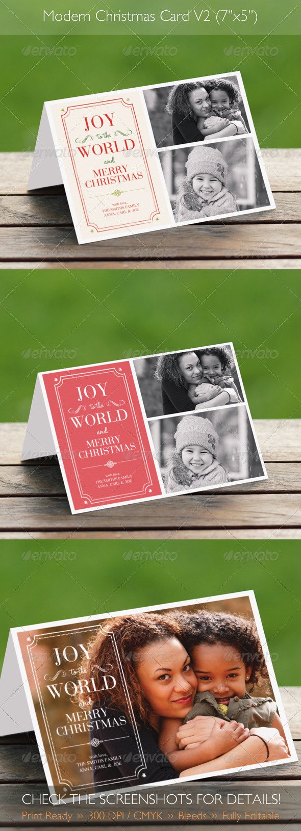 GraphicRiver Modern Christmas Card V2 3434954