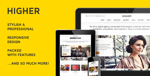 ThemeForest Higher Premium Multi-Purpose WordPress Theme 3434967