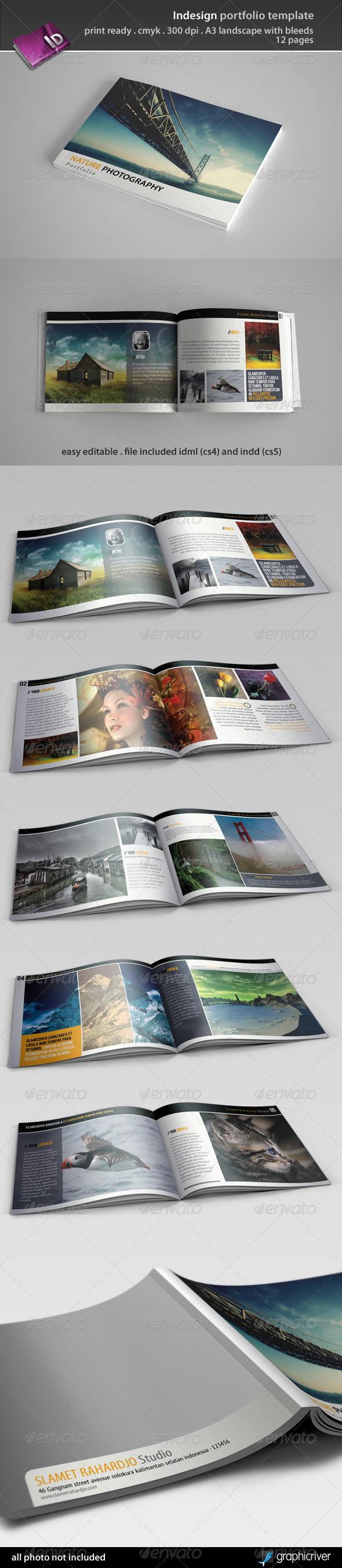 GraphicRiver Indesign Portfolio Template 3435643