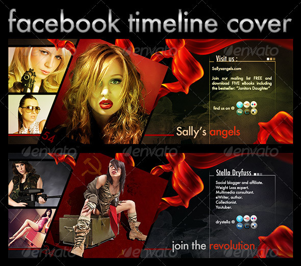 FB Timeline Canvas - Facebook Timeline Covers Social Media