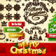 Christmas Elements Set - GraphicRiver Item for Sale