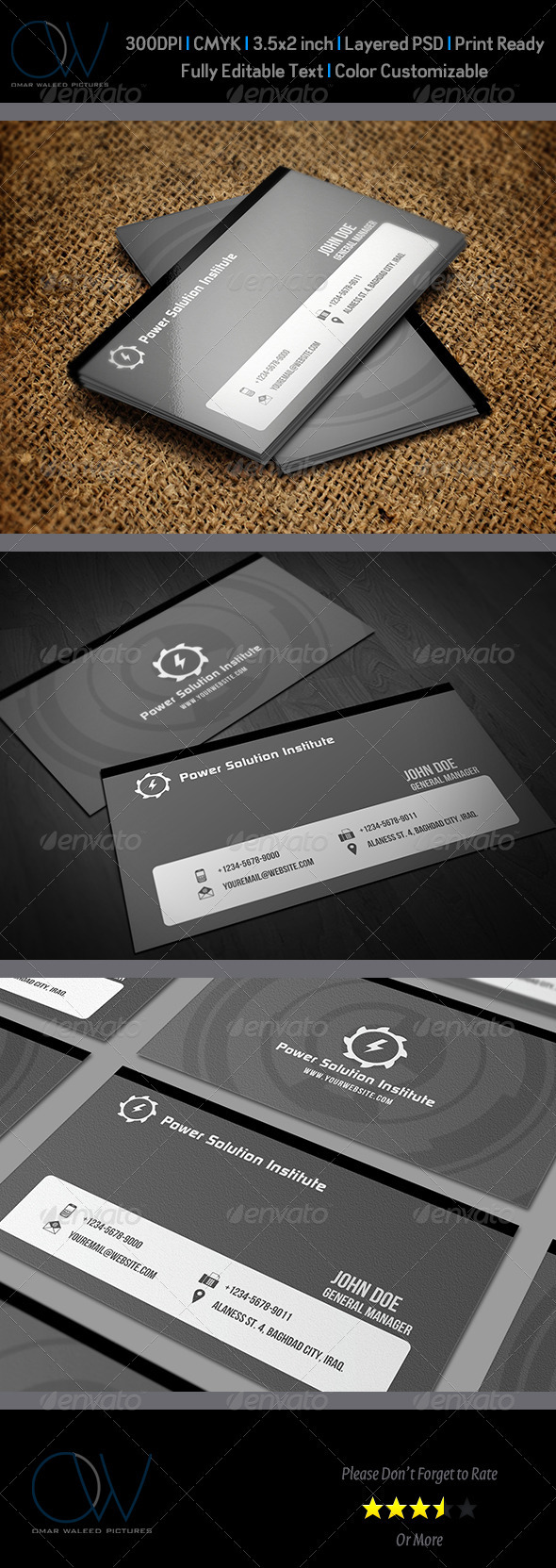 GraphicRiver Corporate Business Card Vol.8 3436453