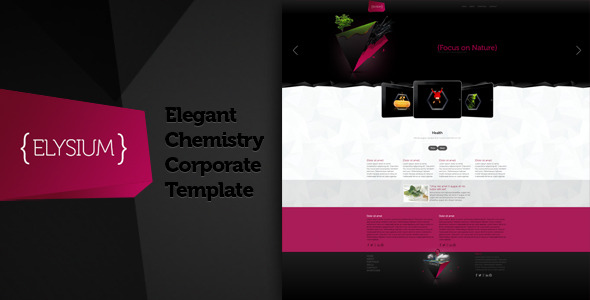 Elysium -Elegant Chemistry Corporate Theme