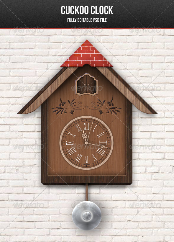 GraphicRiver Cuckoo Clock 3436823