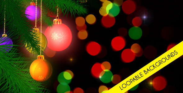 Christmas Loopable Background