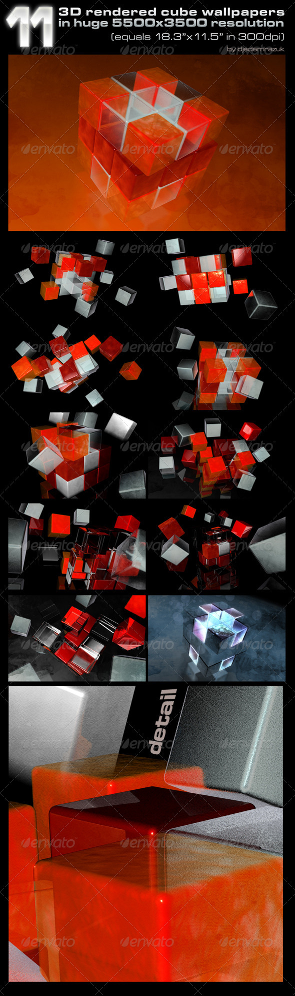 3D Rendered Wallpapers/Backgrounds - 3D Backgrounds