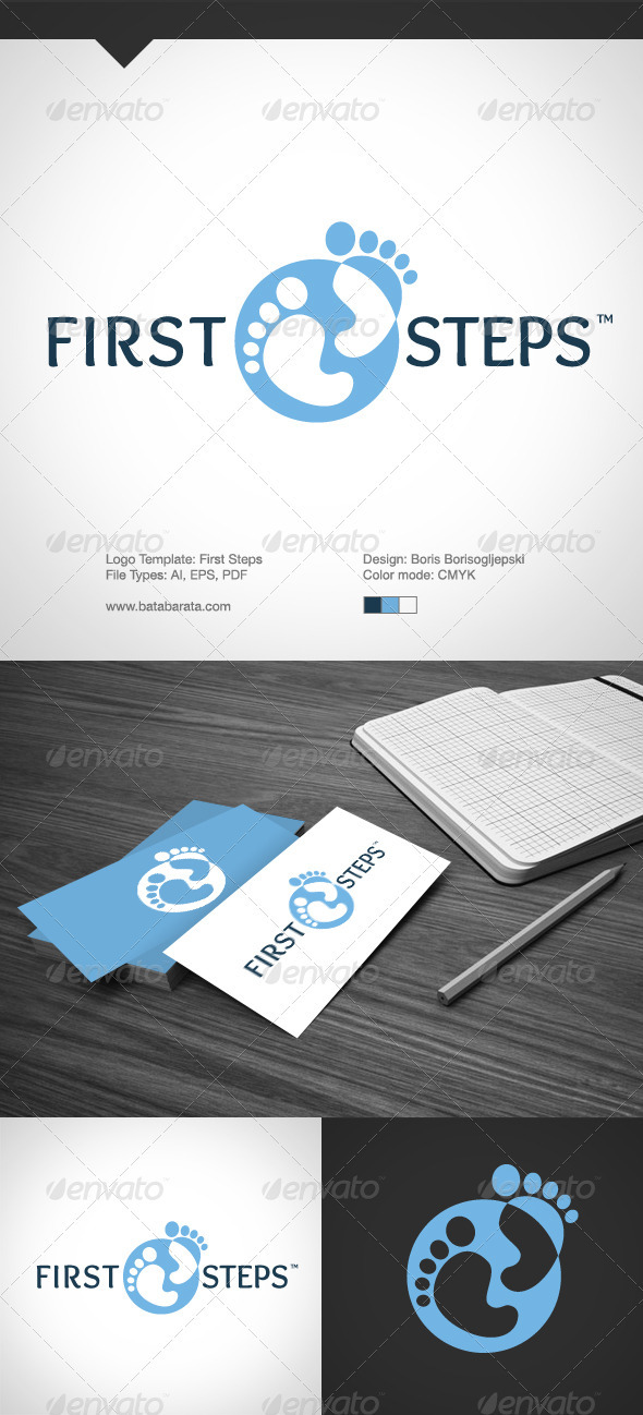 Fists Steps - Logo Templates