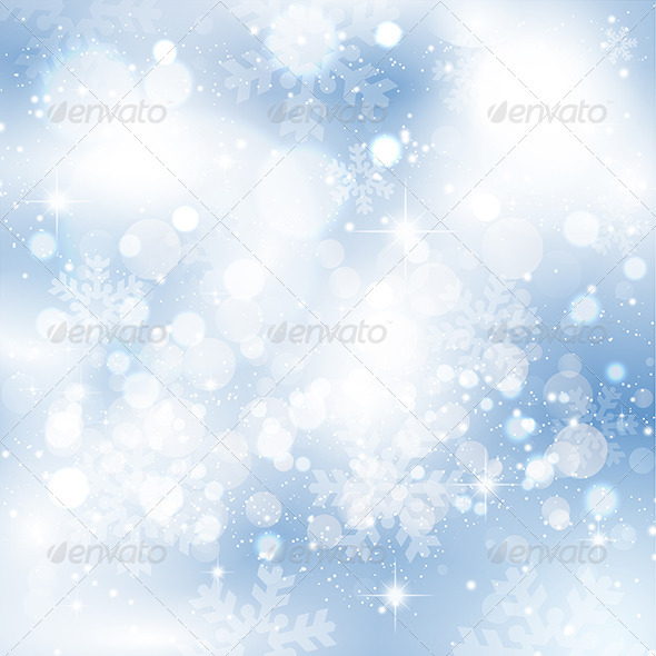 GraphicRiver Snowflakes and stars 3438337