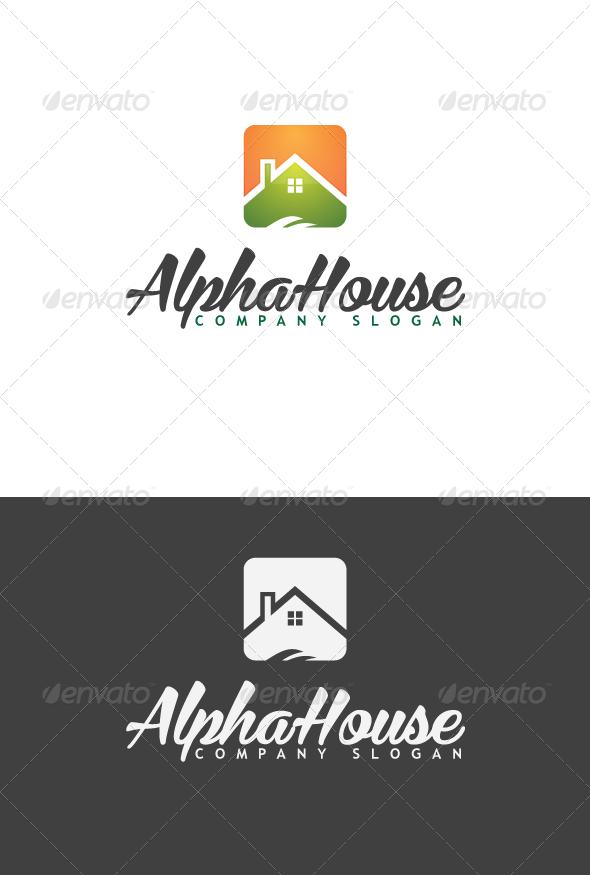 GraphicRiver AlphaHouse Logo 3406613