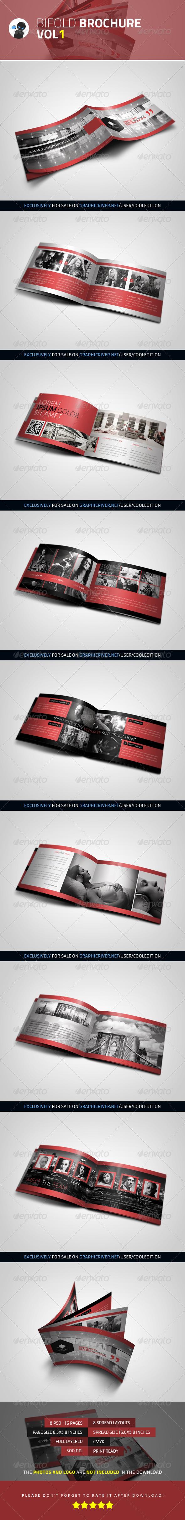 Bifold Brochure - VOL1 - Brochures Print Templates