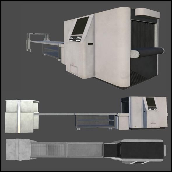 3DOcean Luggage Scanner 3439805