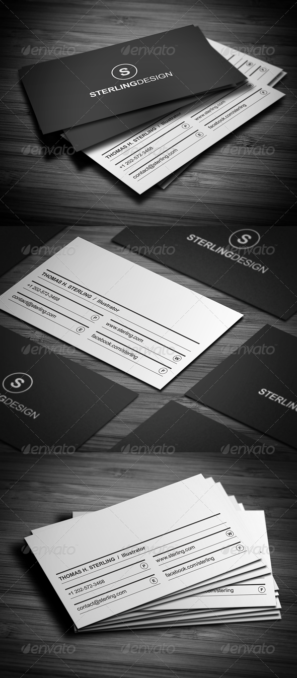 GraphicRiver Creative Business Card 3419978