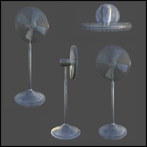 3DOcean Standard Fan 3439948