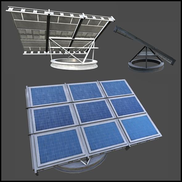 3DOcean Solar Panel 3440015